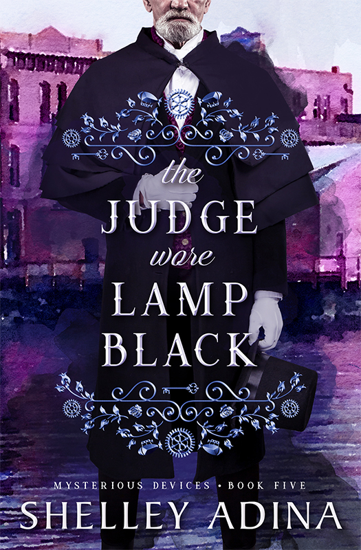 The Judge Wore Lamp Black by Shelley Adina